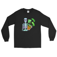 Skeleton and Plant - Long Sleeve Shirt