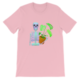 Skeleton and Plant - T-Shirt