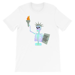 NOBODY IS FREE Skeleton - T-Shirt