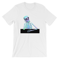 Waiting Skeleton - T-Shirt