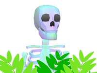 Skeletons Etc iMessage sticker app