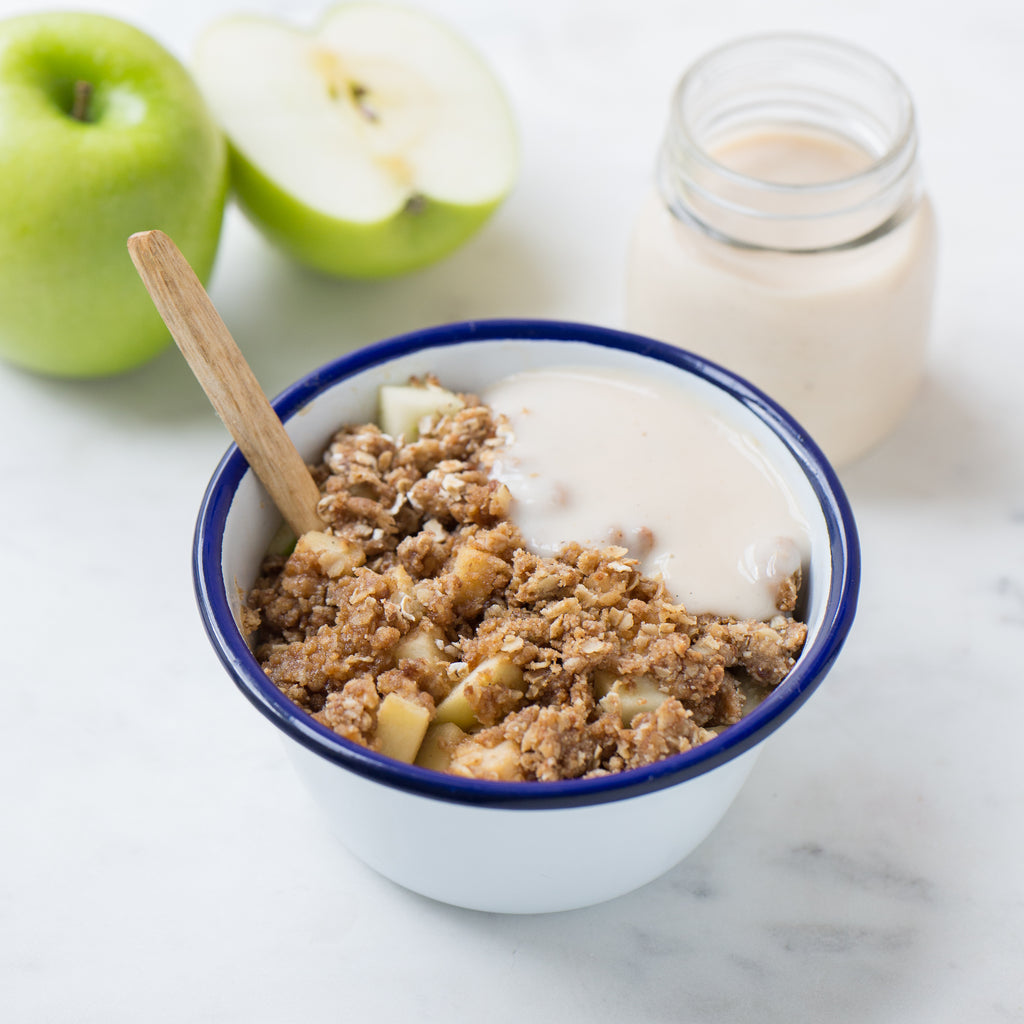 Green Apple Crumble