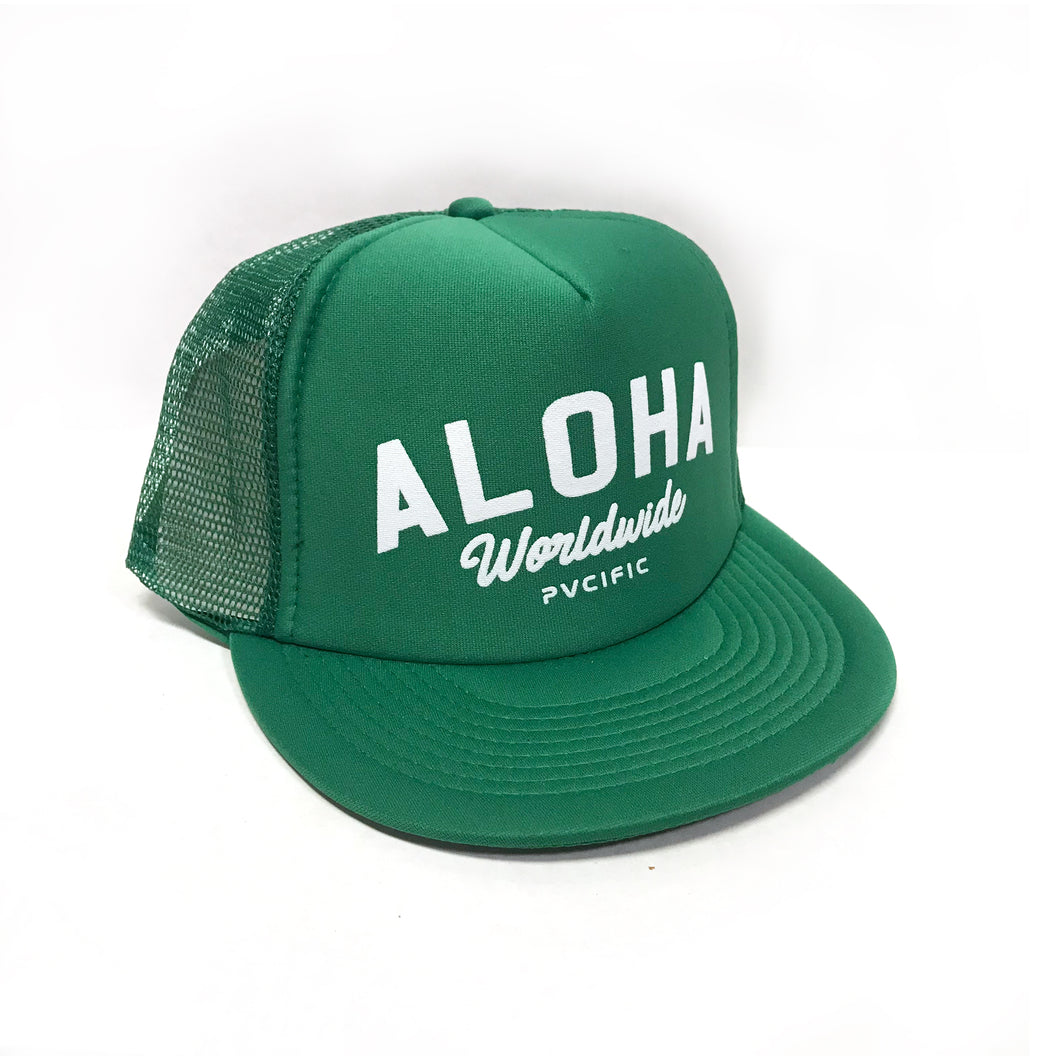Worldwide green Trucker