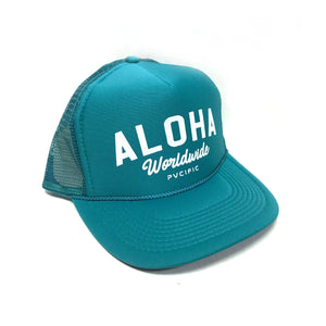 Worldwide Teal Trucker