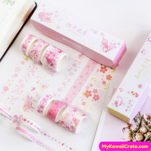 Pink Washi Tapes