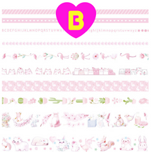 10 Pc All Things Pink Series Washi Tape Set ~ Masking Tape