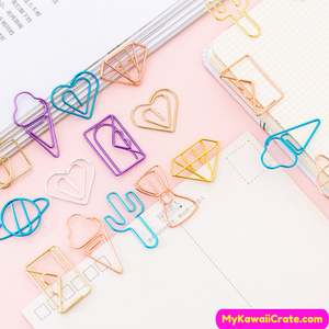 Fun Shaped Paper Clips