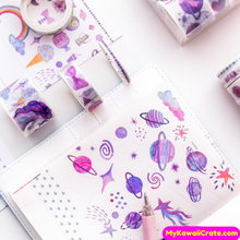 Purple Washi Tapes