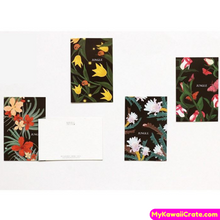 28 Pc Amazon Jungle Rainforest Flowers Lomo Cards