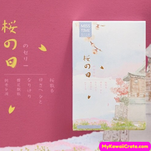 28 Pc Pack Cherry Blossom Season Series Lomo Cards