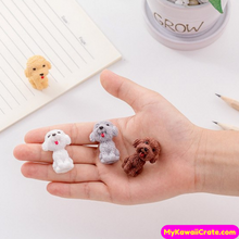 2 Pc Cute Little Dog Pencil Erasers