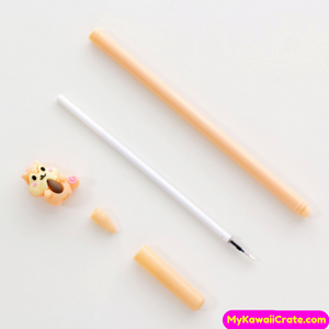 2 Pc Cute Squirrel Family Gel Pens