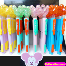 2 Pc Kawaii Hard Candy Mouse Style Side Press Mechanical Pencils