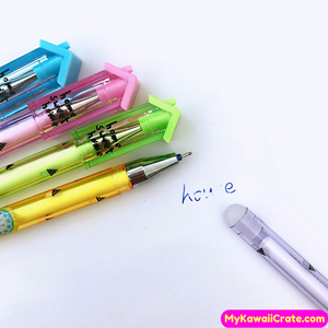 2 Pc Home Sweet Home Erasable Gel Pens