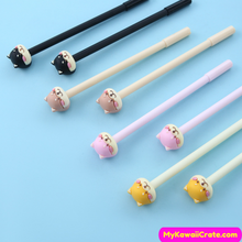 2 Pc Kawaii Cartoon Dogs Gel Pens