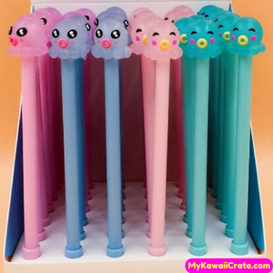 2 Pc Cute Kawaii Octopus Gel Pens