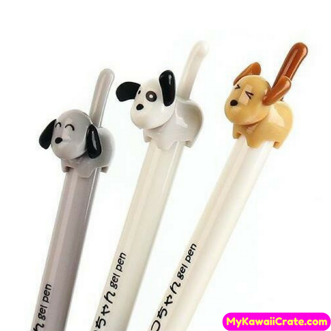Dog Lover Gel Pens