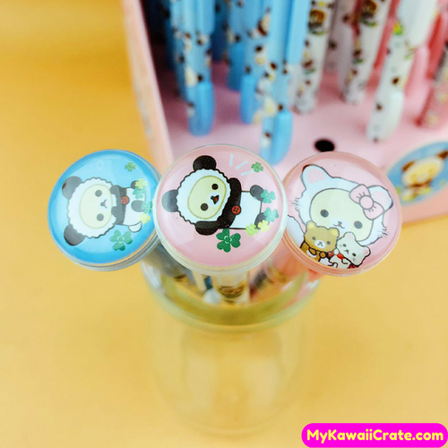 2 Pc Kawaii Rilakkuma Korilakkuma Mechanical Pencils