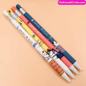 2 Pc Lets go Together Puppy Dog Mechanical Pencils