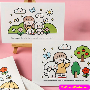 Children Postcards Set