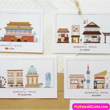 Architecture Buildings Around the World Postcards 30 Pc Set