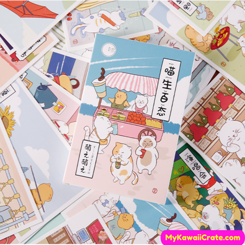 Japanese Cat Postcards