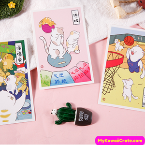 Kawaii Postcard Set