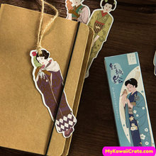 Japanese Girl Bookmark Set