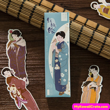 30 Pc Pack Beautiful Kimono Girls Bookmarks