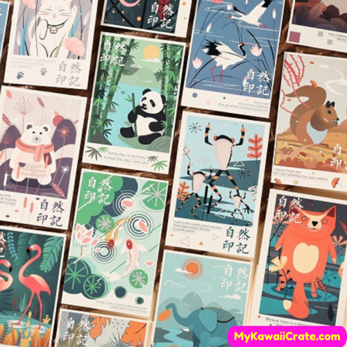 Jungle Animals Postcards
