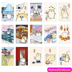 Japan Dogs Collectible Postcards