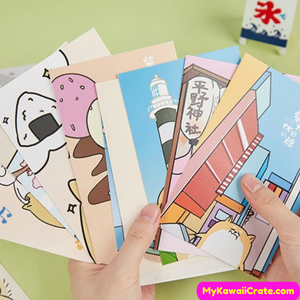 Cartoon Dog Postcard Set