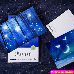 luminous postcards