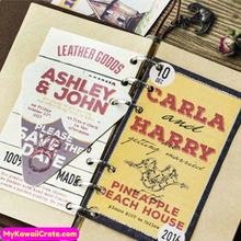 30 Pc Pk American Vintage Style Advertising Mini Postcards