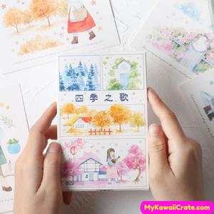 Cute Postcard Pack
