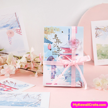 Japan Sakura Postcard set