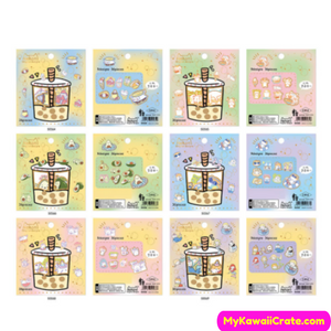 Adorable Kawaii Animals Stickers 36 Pc Pack