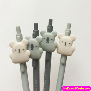 3 Pc Kawaii Bear & Koala Bears Mechanical Pencils