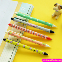 3 Pc Kawaii Cute Cartoon Chunky Gel Pens