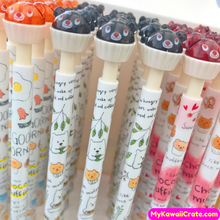 3 Pc Kawaii Choco Muffin Bear Mechanical Pencils