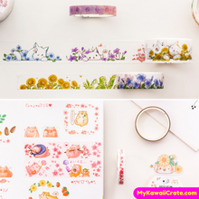 Cartoon Animals Washi