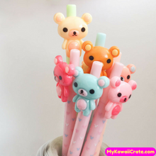 3 Pc Kawaii Rilakkuma Korilakkuma Mechanical Pencils