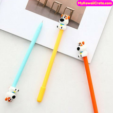 3 Pc Lovely Puppy Dog Gel Pens