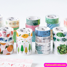 Forest Decorative Tapes