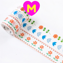 3 Pc Pack Forest Adventures Series Washi Tapes Set