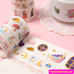 Cute masking tapes
