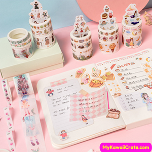 Cute Girls Decoration Tape