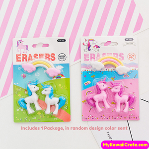 cute pencil erasers