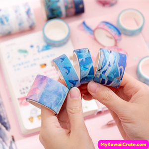 Whales Sticker Tape