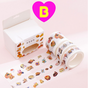 Sweet Cake Dessert Tapes